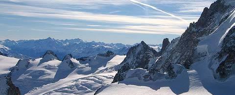 Le Mont Blanc...