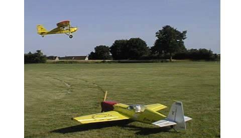 Maquettes d'avion, modélisme