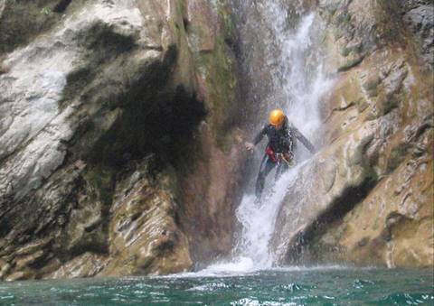 Canyoning (photo de Oxygen-Aventure.com)