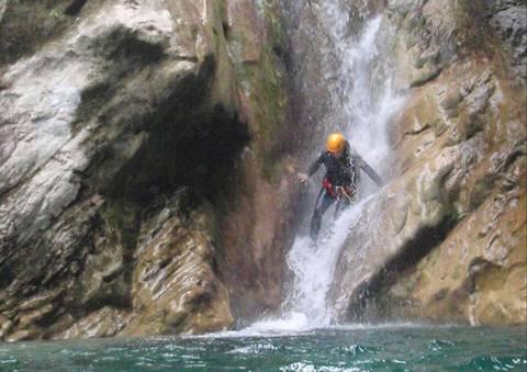 Canyoning (photo de Oxygen-Aventure.com)
