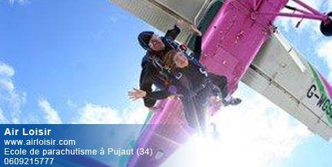 Ecole de parachutisme, Air Loisir, Pujaut