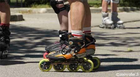 Débuter en Roller l source : aixinroller.fr