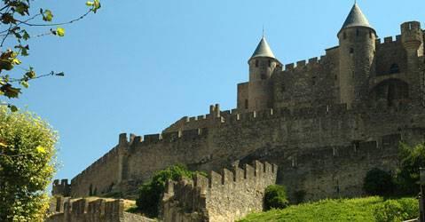 Le chateau de Carcassonne