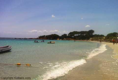 Plage de Palombaggia en Corse, Koifaire.com