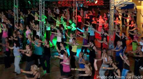Cours de Zumba, entre danse et fitness