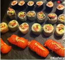 Cuisine japonaise, sushis