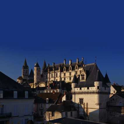 Cité Royale de Loches, ©Leonard de Serres