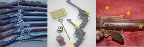 Tir à l'arme ancienne, source : http://www.armes-ufa.com/