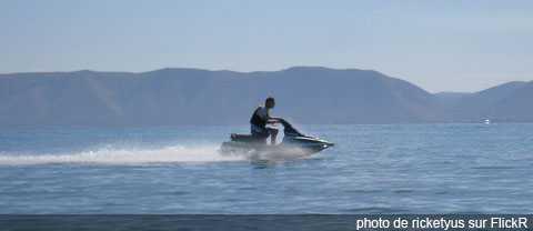 Jet ski, réglementation