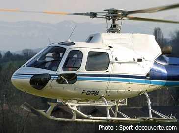 Baptême de l'air, stage en hélicoptère